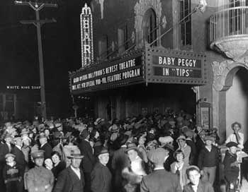 Opening Night, January 1923. Held by the Los Angeles Public Library (JPG)