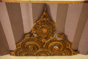 Warner Theatre, Huntington Park: Ceiling Detail At Side Wall