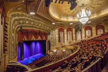 Warner Theatre, Washington DC: Balcony Left view to Stage