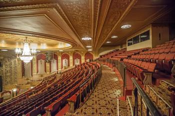 Warner Theatre, Washington DC: Balcony from side