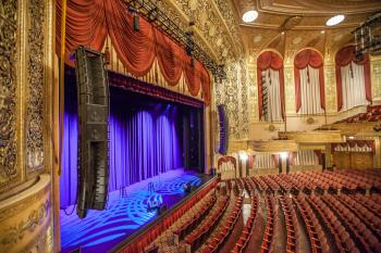 Warner Theatre, Washington DC: View from House Left Box