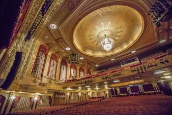Warner Theatre, Washington DC: Auditorium from Orchestra Front Left