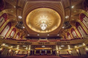Warner Theatre, Washington DC: Ceiling from Stage