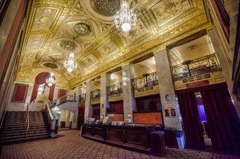Warner Theatre, Washington DC: Lobby from Entrance