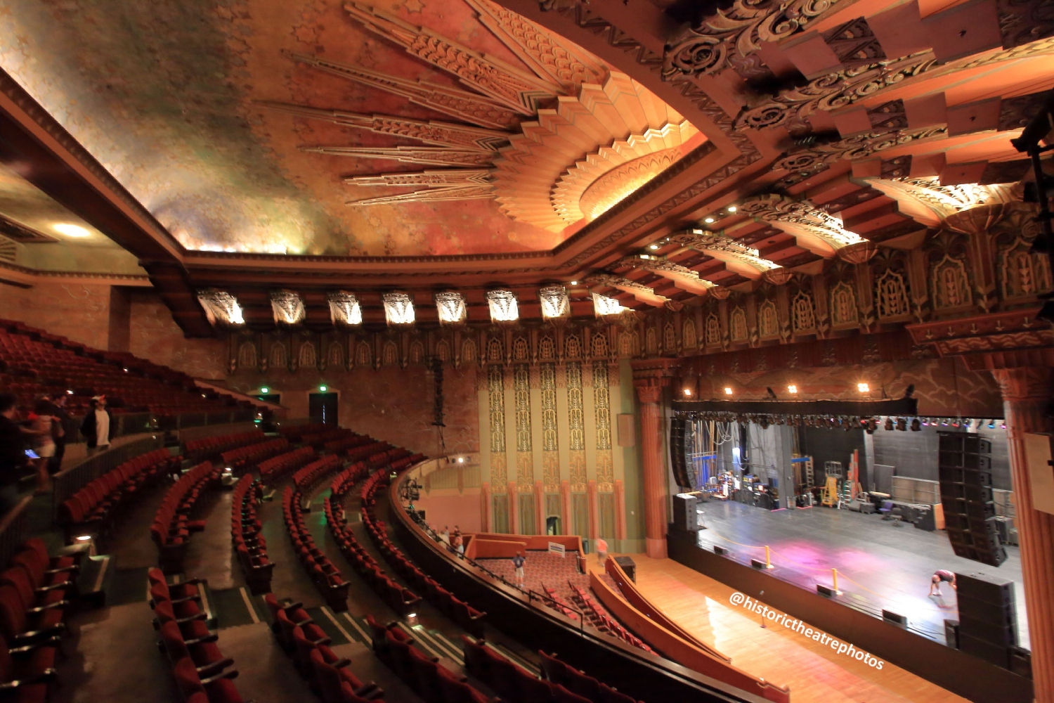 The wiltern koreatown historic theatre photography for Los angeles interior
