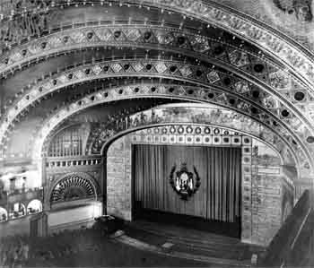 Auditorium from Balcony, from the Historic American Buildings Survey (JPG)