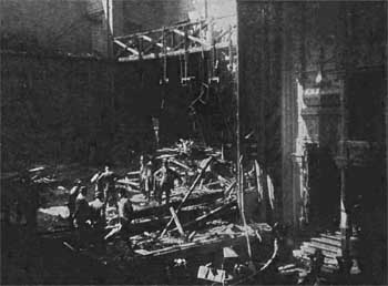 Aftermath of the fire of 1911