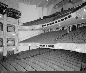 Auditorium in 2005. From the RCAHMS Collection held by the Canmore Archive (JPG)