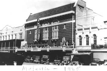 1925 photo as the Majestic Theatre, courtesy Texas Historical Commission (JPG)