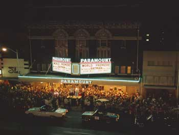 Batman premiere (1966), photo by Neal Douglass, courtesy Texas Historical Commission (JPG)