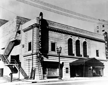 The theatre at its opening in 1927