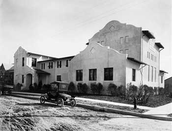 The Scottish Rite building in the 1920s (JPG)