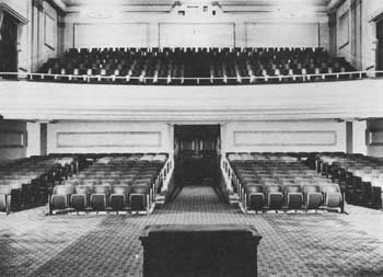 Cobb Auditorium 1925-1965; courtesy Scottish Rite Cathedral Association of Pasadena, Inc. (JPG)