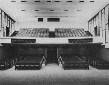 Cobb Auditorium following 1965 remodel; courtesy Scottish Rite Cathedral Association of Pasadena, Inc. (JPG)