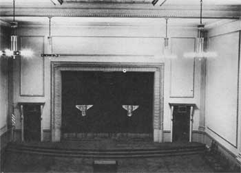 Cobb Auditorium Stage 1925-1965; courtesy Scottish Rite Cathedral Association of Pasadena, Inc. (JPG)