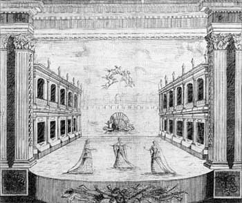 1674 line drawing of the theatre, source unknown (JPG)