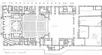 Plan of the 1922 building, courtesy Greater London Council via British History Online (JPG)