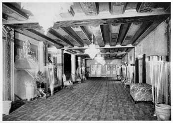"Photograph of main lobby as featured in the 21st November 1931 edition of ""Motion Picture Herald"" (JPG)"