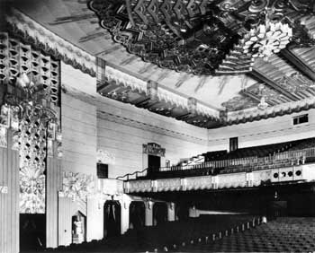 Auditorium as photographed in 1930 (JPG)
