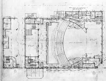 Mezzanine level as planned, courtesy Library of Congress (JPG)